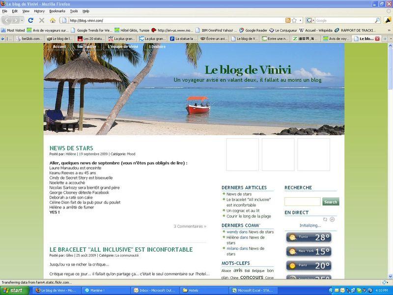 Vinivi new blog